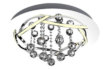 LAMPA PLAFON CANDELLUX APETI KORFU LED CHROMOWY 4000K