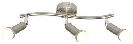 LAMPA ŚCIENNA  CANDELLUX ARC 93-63465 LISTWA  E14 SATYNA NIKIEL