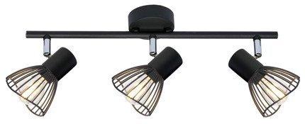 LAMPA ŚCIENNA  CANDELLUX FLY 93-61911 LISTWA  E14 CZARNY