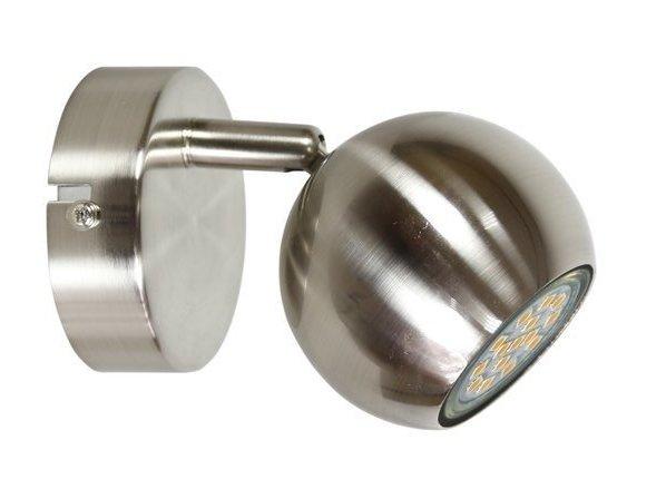 LAMPA ŚCIENNA KINKIET CANDELLUX BALT 91-60594     GU10 SATYNA