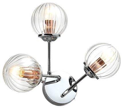 LAMPA ŚCIENNA KINKIET CANDELLUX BEST 23-67258  E14 CHROM+MIEDŹ