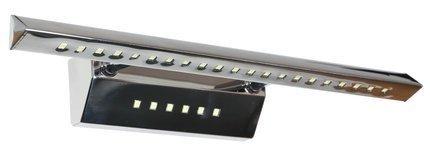 LAMPA ŚCIENNA KINKIET CANDELLUX FORTE 20-27030  LED RURKA TRÓJKĄTNA Z WYŁĄCZNIKIEM CHROM