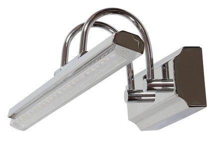 LAMPA ŚCIENNA KINKIET CANDELLUX GIZEL 20-32591  LED CHROM