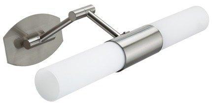 LAMPA ŚCIENNA KINKIET CANDELLUX JADET 22-26647 ŁAZIENKOWY  E14 SATYNA NIKIEL