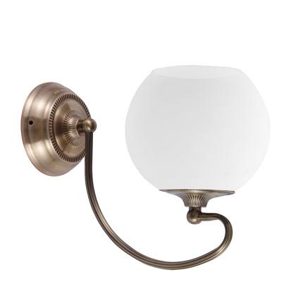 LAMPA ŚCIENNA KINKIET CANDELLUX ORBIT 21-69344  E27 PATYNOWA MIEDŹ