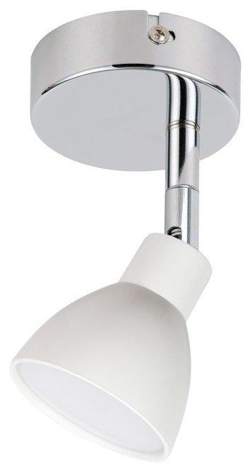 LAMPA ŚCIENNA KINKIET CANDELLUX ROY 91-67524  LED  GŁÓWKA OKRĄGŁA  Z PRZEGUBEM   BIAŁY
