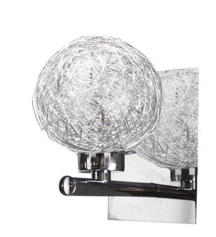 LAMPA ŚCIENNA KINKIET CANDELLUX SPHERE 21-14009  G9 CHROM