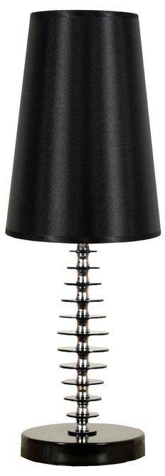 LAMPA STOŁOWA  CANDELLUX FUNDI 41-14559 E27 CZARNA