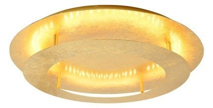 LAMPA SUFITOWA  CANDELLUX MERLE 98-66190 PLAFON  24W LED 3000K ZŁOTY