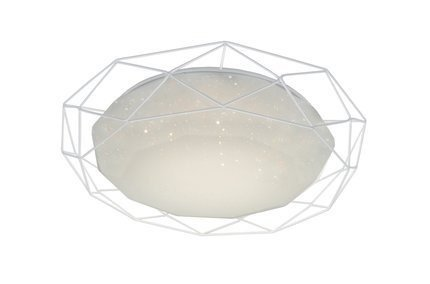 LAMPA SUFITOWA  CANDELLUX SVEN 98-66251 PLAFON  24W LED 3000K BIAŁY