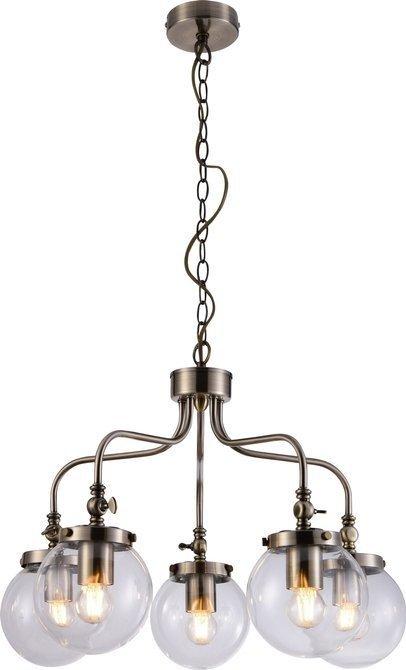 LAMPA SUFITOWA WISZĄCA CANDELLUX BALLET 35-70876  E27 PATYNOWY