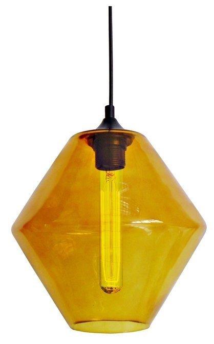 LAMPA SUFITOWA WISZĄCA CANDELLUX BREMEN 31-36223   E27 KLOSZ POMARAŃCZOWY + ŻARÓWKA