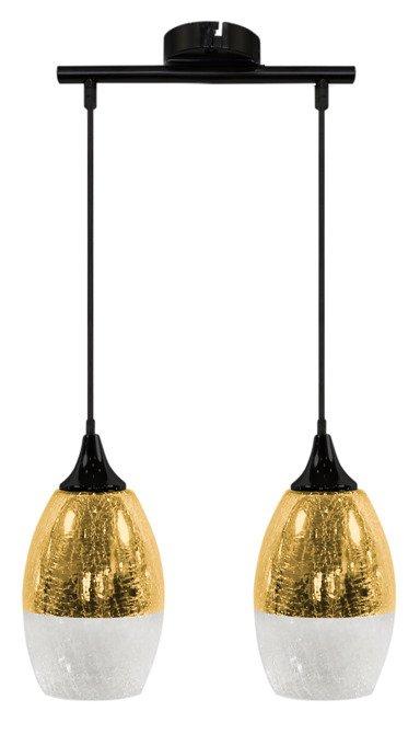 LAMPA SUFITOWA WISZĄCA CANDELLUX CELIA 32-57310  E27 ZŁOTY