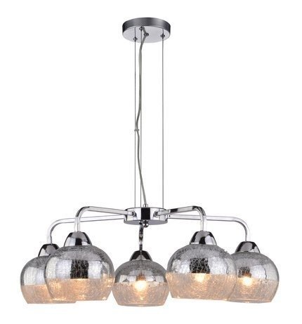 LAMPA SUFITOWA WISZĄCA CANDELLUX CROMINA 35-56375  E27 CHROM