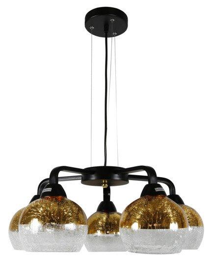 LAMPA SUFITOWA WISZĄCA CANDELLUX CROMINA 35-57266  E27 CZARNY