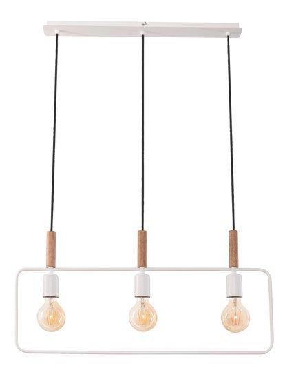 LAMPA SUFITOWA WISZĄCA CANDELLUX FRAME 33-73532 BIAŁY