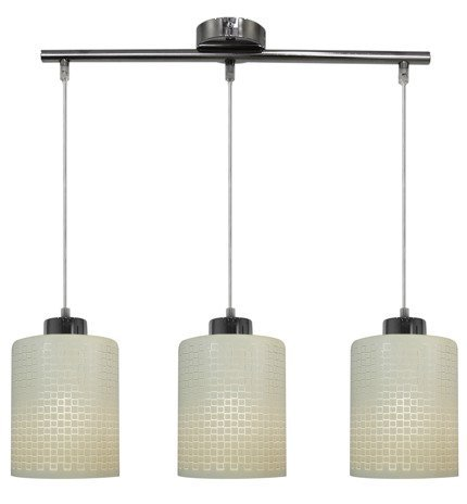 LAMPA SUFITOWA WISZĄCA CANDELLUX MARCEPAN 33-59123  E27 CHROM