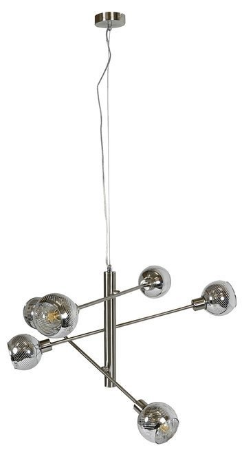 LAMPA SUFITOWA WISZĄCA CANDELLUX MIGO LINKA  E14 LED SATYNA 36-72528