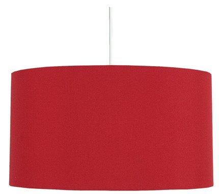 LAMPA SUFITOWA WISZĄCA CANDELLUX ONDA 31-06158   E27 CZERWONY