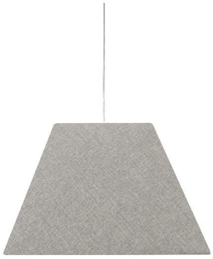 LAMPA SUFITOWA WISZĄCA CANDELLUX STANDARD 31-10001   E27 SZARY