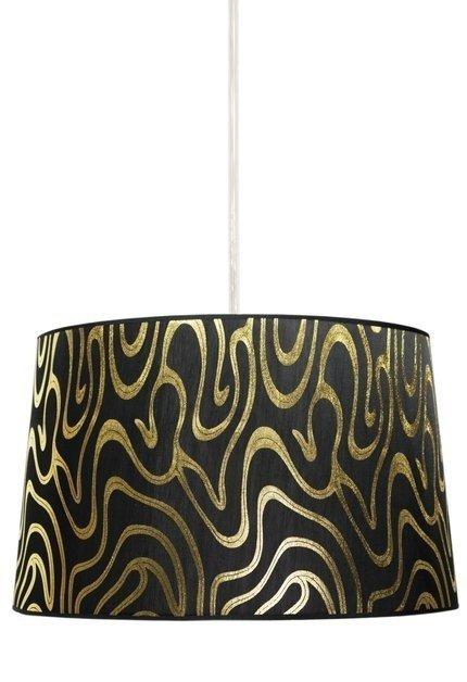 LAMPA SUFITOWA WISZĄCA CANDELLUX TIGER 31-94455   E27 CZARNO-ZŁOTY
