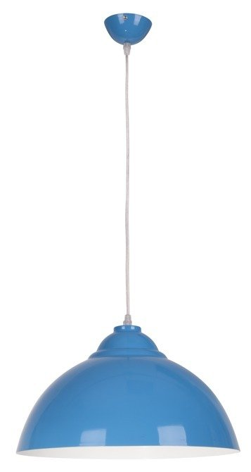 LAMPA SUFITOWA WISZĄCA CANDELLUX UNI 31-13330   E27 NIEBIESKI