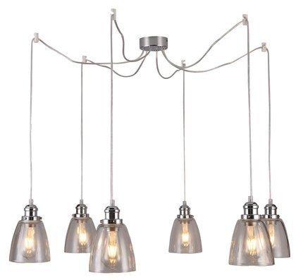 LAMPA SUFITOWA WISZĄCA CANDELLUX VOICE 36-70845  E27 CHROMOWY