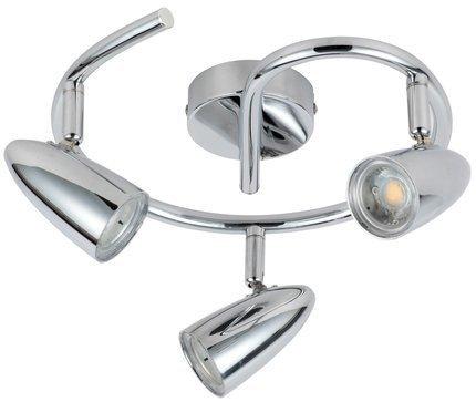 Lampa Ścienna Candellux Liberty 93-49612 Spirala Led Chrom