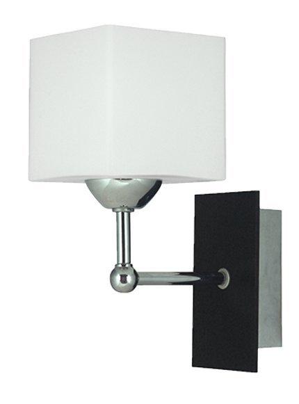 Lampa Ścienna Kinkiet Candellux Cubetto 21-24513 E27 Drewno+Chrom
