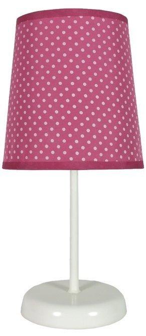 Lampa Stołowa Candellux Gala 41-98279 E14 Fuksja W Kropki