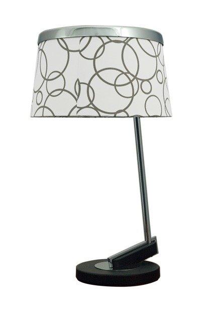 Lampa Stołowa Candellux Impresja 41-45372 E27 Biała Chrom