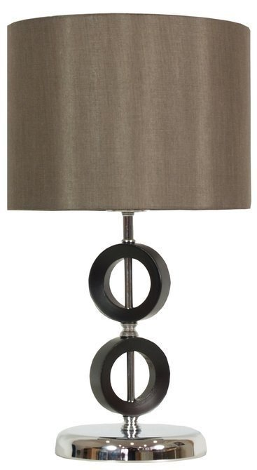 Lampa Stołowa Gabinetowa Candellux Anello 41-01160 E27 H-43 Brązowa