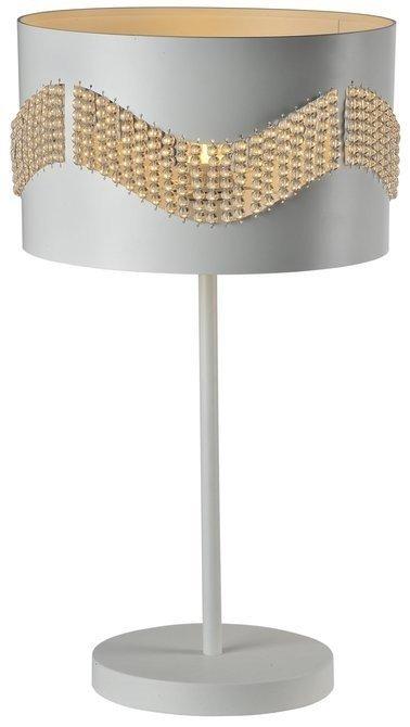 Lampa Stołowa Gabinetowa Candellux Antonio 41-23018 E27 Biały
