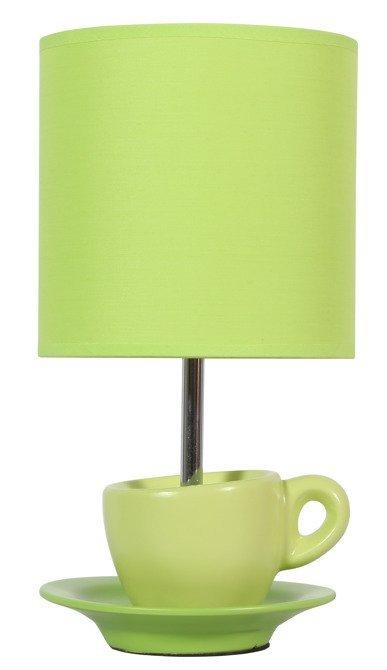 Lampa Stołowa Gabinetowa Candellux Cynka 41-34830 E27 Pistacjowy