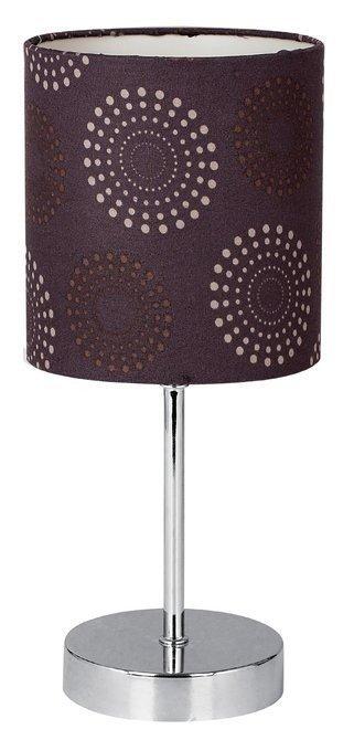 Lampa Stołowa Gabinetowa Candellux Emily 41-26736 E14 Brązowa