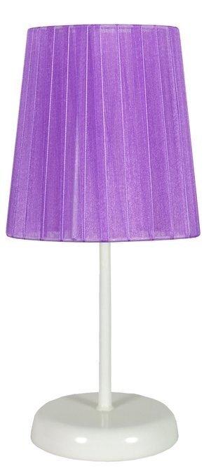 Lampa Stołowa Gabinetowa Candellux Rifasa 41-40855 E14 Fioletowy