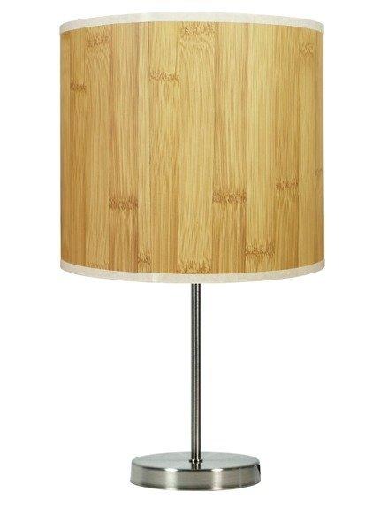 Lampa Stołowa Gabinetowa Candellux Timber 41-56712 E27 Sosna