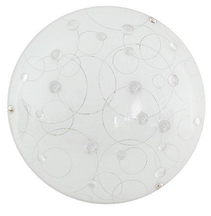Lampa Sufitowa Candellux Astro 13-39149 Plafon Led 6500K Transparentny