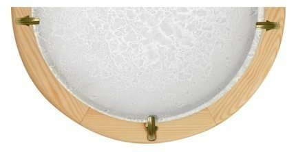 Lampa Sufitowa Candellux Ditrevi 010 11-94585 Plafon1/2 Biały Drewno