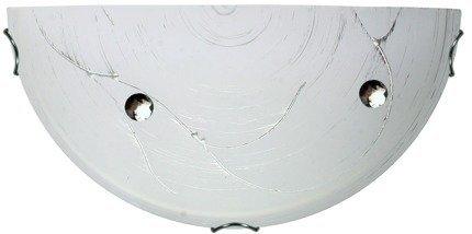 Lampa Sufitowa Candellux Fluo 11-32877 Plafon E27 Srebrny