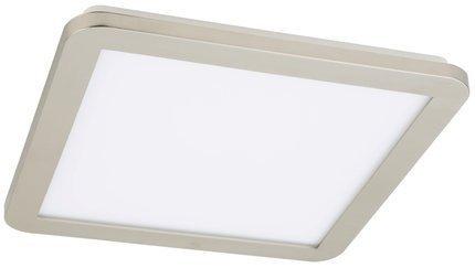 Lampa Sufitowa Candellux Nexit 10-66831 Plafon 18W Led Ip44 Satyna+Biały 3000K