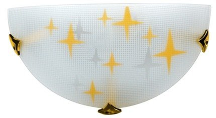 Lampa Sufitowa Candellux Stars 11-79506 Plafon1/2 E27 Ambra