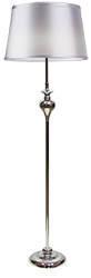 Lampa podłogowa srebrna nitkowy abażur 60W Gillenia Candellux 51-11947