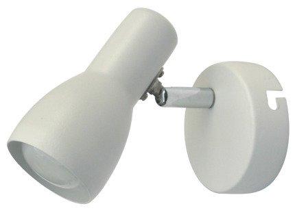 Lampa ścienna kinkiet 1X40W E14 biały mat PICARDO 91-44198