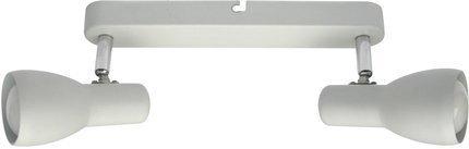 Lampa ścienna sufitowa listwa biała 2x40W Picardo 92-44181