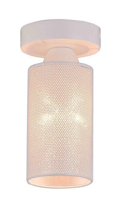 Lampa sufitowa biała metalowa E14 40W Indira Candellux 31-58614