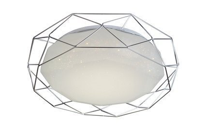 Lampa sufitowa plafon 16W LED 3000K chrom SVEN 98-66237