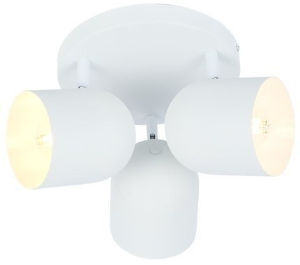 Lampa sufitowa plafon 3X40W E27 biały AZURO 98-63274