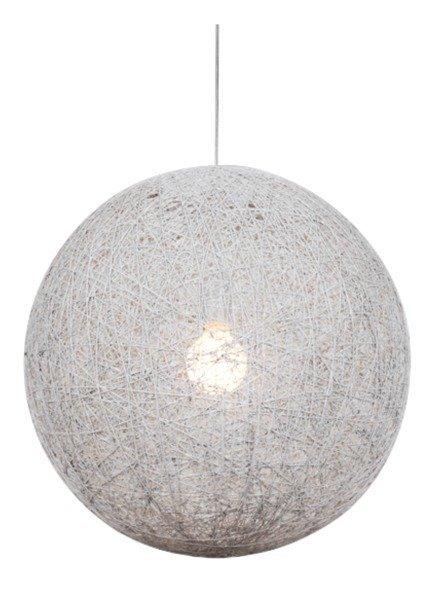 Lampa sufitowa wisząca 1X60W E27 biały CARUBA 31-26944