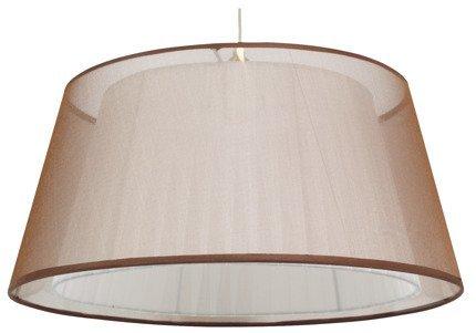 Lampa sufitowa wisząca 1X60W E27 brąz CHARLIE 31-24794
